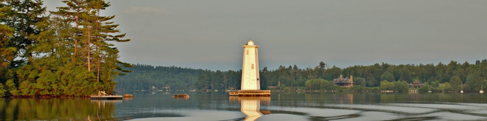 Lighthouse on Lake Sunapee